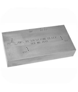 AWS Resolution Reference Block (1018 Steel)