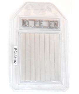 10 ISO 16 Steel Wire Penetrameters