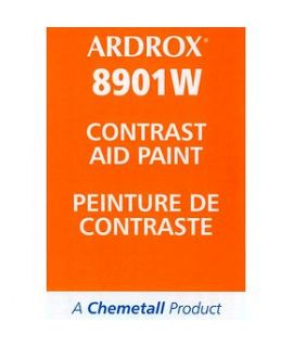 Ardrox 8901W  White Contrast Paint (case of 12 aerosol cans)