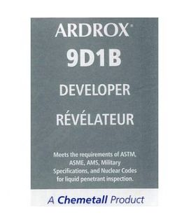 Ardrox 9D1B Developer (case of 12 aerosol cans)