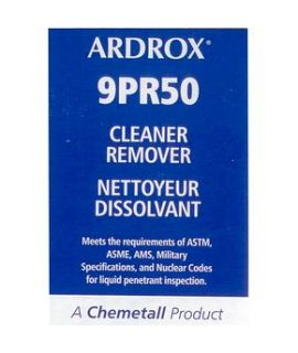 Ardrox 9PR50 Cleaner/Remover (case of 12 aerosol cans)