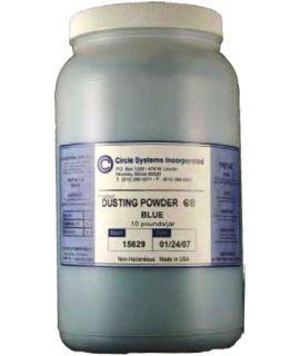 #68 Blue MPI Dusting Powder (10 Pound Jar)