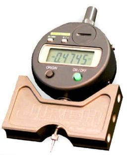 Digital Manual Pit Gauge Kit with 2 Extension Arms and Standard Indicator