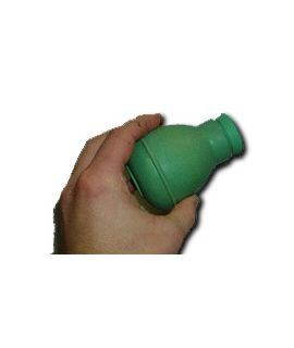 Rubber Powder Applicator Green