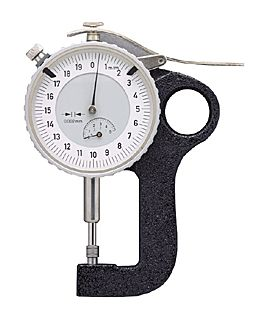 Testex Dial Thickness Gauge, Analog (Imperial or Metric (specify))