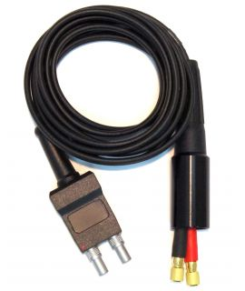 Dual Standard Cable For D-790 And TG-790 Probes, Fits GE/Krautkramer DMS Go(+) Instruments