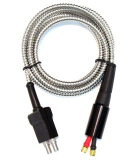 Dual Armored Cable For D-790 And TG-790 Transducers, Fits GE/Krautkramer DMS Go(+) and DMS2 Instruments