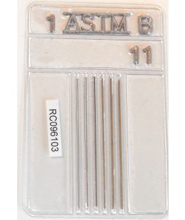 ASTM E747 Stainless Steel Wire Penetrameters (Set B)