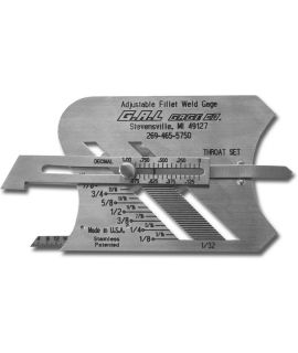 Fillet Weld Gauge, Adjustable