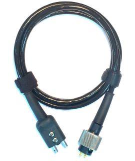 Dual Cable for DA-590 Transducer