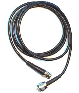 Single BNC To UHF Transducer Cable