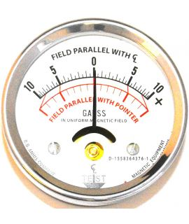 Magnetic Field Indicator 10-0-10 With Certificate