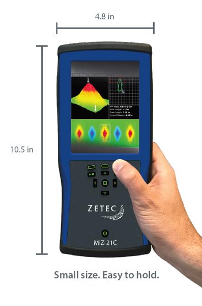 MIZ-21C Rough Dimensions